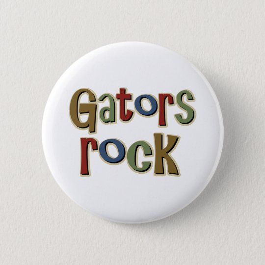 Gators Rock Pinback Button