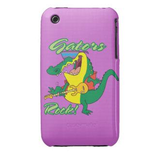 gators rock rock n roll alligator cartoon iPhone 3 case