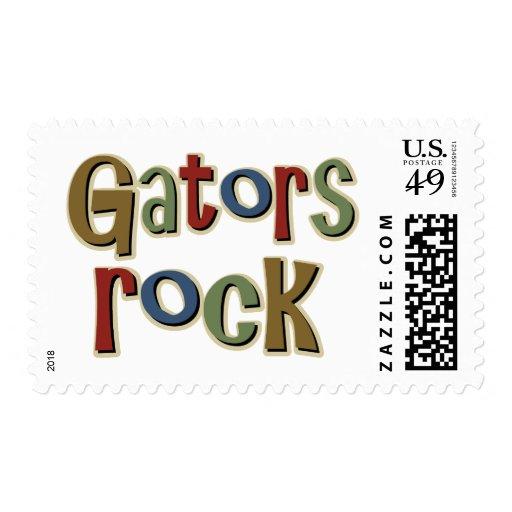 Gators Rock Stamp