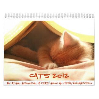 Gatos 2012 calendario