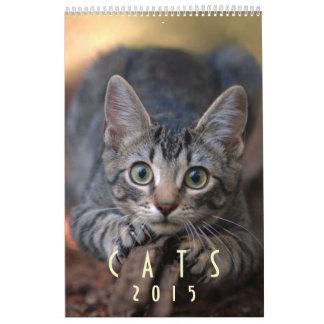 Gatos 2015 - Un calendario para los amantes del