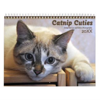 Gatos 2017 y gatitos de Cuties del Catnip Calendarios