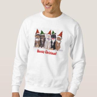 ¡Gatos adorables del navidad! Camisa