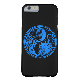 Gatos azules y negros de Yin Yang