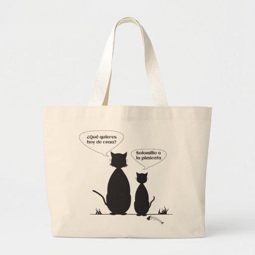 Gatos callejeros bolsa