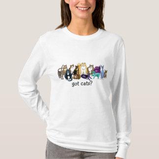 ¿gatos conseguidos? camiseta