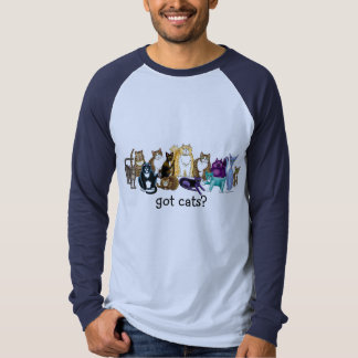 ¿gatos conseguidos? camiseta remeras