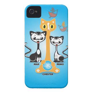 Gatos de Chester iPhone 4 Protector