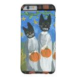 Gatos de Halloween Funda De iPhone 6 Barely There