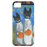 Gatos de Halloween iPhone 5 Case-Mate Carcasa