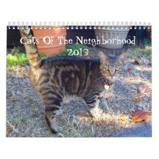 Gatos de la vecindad 2013 calendario
