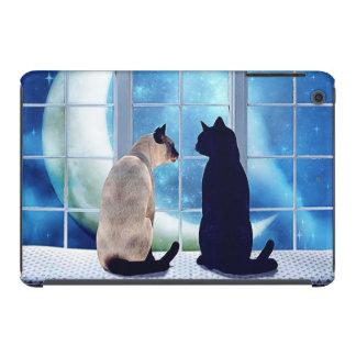 Gatos de la ventana fundas de iPad mini