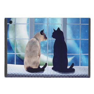 Gatos de la ventana iPad mini protectores