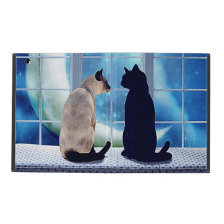 Gatos de la ventana iPad cárcasas