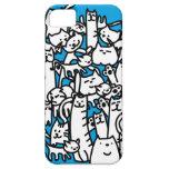 Gatos de los gatos de los gatos iPhone 5 Case-Mate carcasa