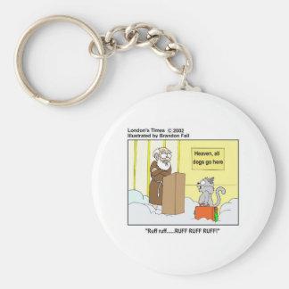 Gatos de los perros y regalos y camisetas divertid llavero personalizado
