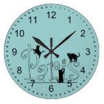 Gatos de París Reloj