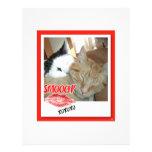 Gatos de Tabby de la tarjeta del día de San Valent Tarjetas Publicitarias