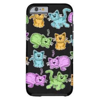 gatos de Toon Funda De iPhone 6 Tough