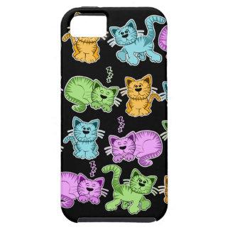 gatos de Toon iPhone 5 Cárcasa