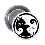 Gatos de Yin Yang Pin