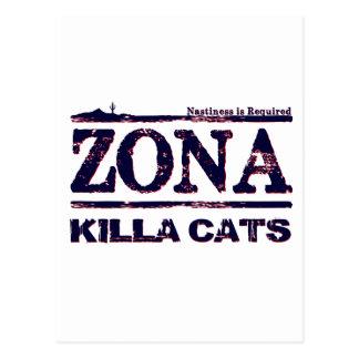 Gatos de Zona Killa - se requiere el Nastiness Postal