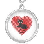 Gatos del amor colgantes