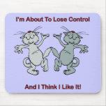 Gatos del baile alfombrilla de ratones