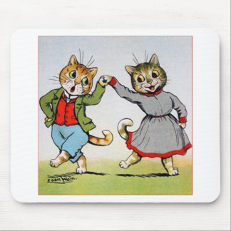 Gatos del baile alfombrillas de ratones