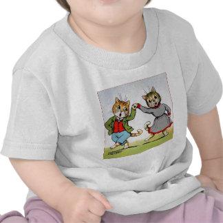 Gatos del baile camiseta