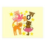 Gatos del baile postal