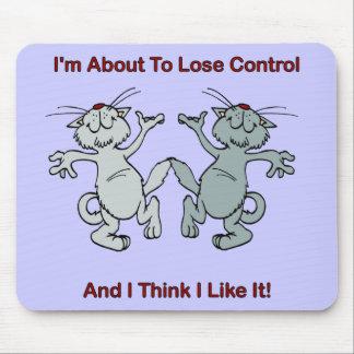 Gatos del baile mousepad