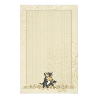 Gatos del boda - marfil  papeleria