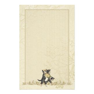 Gatos del boda - marfil papeleria personalizada