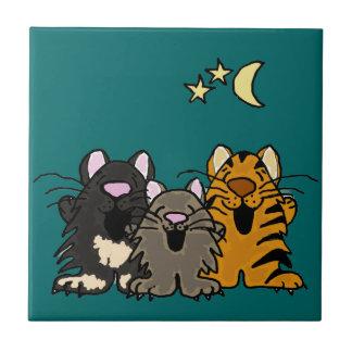Gatos del canto AF teja