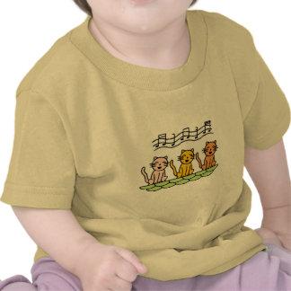 Gatos del canto camisetas y regalos