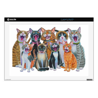 Gatos del canto portátil 43,2cm skin