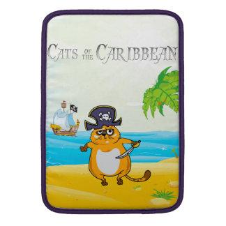 Gatos del Caribe Funda MacBook