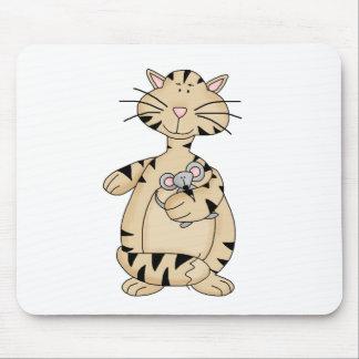 Gatos del gatito · Gatito y ratón Tapetes De Ratón
