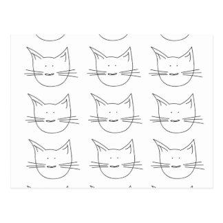 Gatos del gatito postal