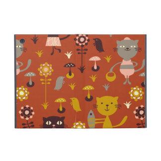Gatos del jardín iPad mini cárcasa