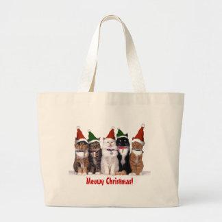 """""""Gatos del navidad de Meowy """" Bolsa"""