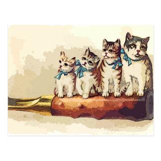Gatos del navidad del Victorian Postal