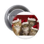 Gatos del navidad pin