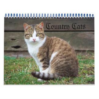 Gatos del país calendario