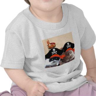 GATOS del PIRATA, charla como un día del pirata Camiseta