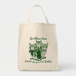 Gatos Delft del amor de Quilters (los