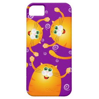 Gatos divertidos, caso del iPhone 5 iPhone 5 Funda