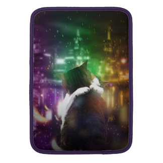 Gatos en amor fundas macbook air