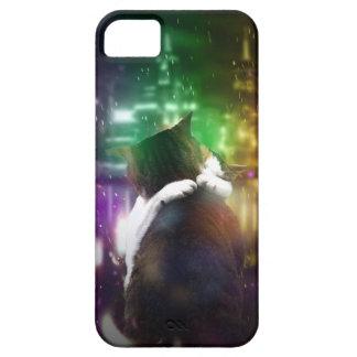 Gatos en amor iPhone 5 funda